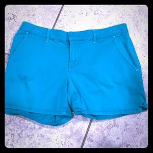 Roxy teal colored shorts